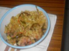 Smaczna sałatka obiadowa, lub na przekąs