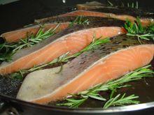 Smaczna skórka ryby