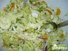 Smaczna surówka warzywna