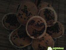 Smaczne babeczki z płatkami czekolady