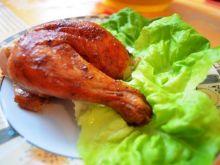 Smaczny kurczak z rożna