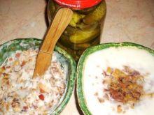 Smalczyk  z cebulką i skwarkami