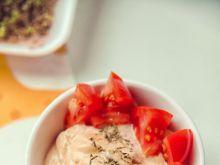 Smarowidełko twarożkowe dyniowo - pomidorowe