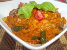 Smażona cukinia curry