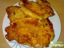 Smażona pierś z kurczaka z serem