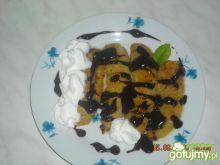Smażone banany w czekoladzie