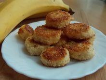 Smażone banany w wiórkach kokosowych