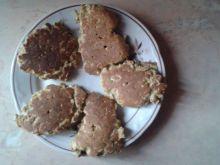 Smażone chlebki z płatków owsianych