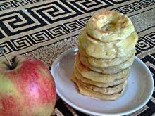 Smażone jabłka w cieście