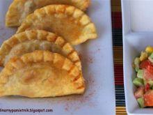 Smażone pierogi z meksykańką nutą