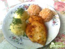 Smażony filet z ziemniakami