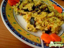 Smażony ryż z cukinią
