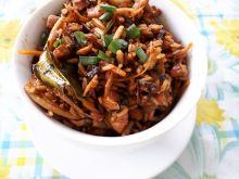 Smażony ryż z przyprawami