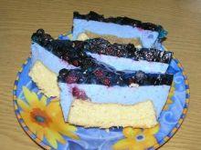 Smerfne ciasto