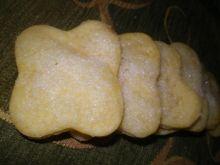 Śmietankowe ciasteczka z cukrem