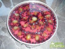 Śmietankowiec z winogronem bez pieczenia
