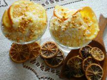 Śmietankowo-pomarańczowa granita wg Buni