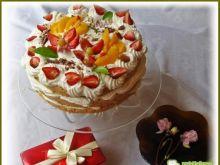 Śmietankowy tort