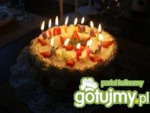 Śmietankowy tort- śmietankowa eksplozja