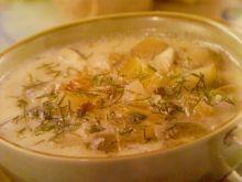 Śmietanowa zupa ogórkowa