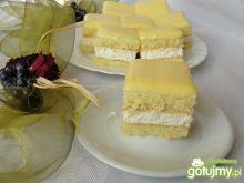 Śmietanowiec z lemon curd