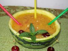 Smoothie arbuzowo - nektarynkowe
