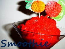 Smoothie malina - pomarańcza