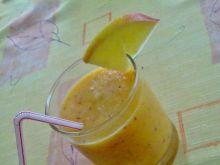 Smoothie z nektarynek i jabłka