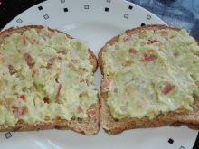 Śniadanie 1 Kanapki z awokado - Dieta 1200 kalorii