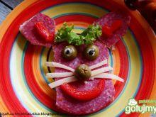 Śniadanie dla dzieci -zajączek