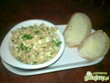 Śniadaniowa pasta z makreli z chrzanem