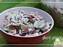 Śniadaniowa sałatka