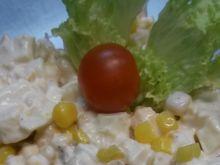 Śniadaniowa sałatka z kabanosem