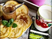 Śniadaniowe placuszki z mascarpone i toffi