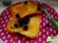Śniadaniowe tosty z miodem