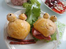 Śniadaniowe żabki