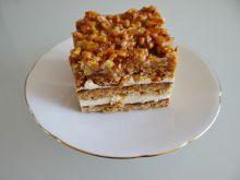 Snickers - ciasto z orzechami
