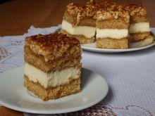Snikers - ciasto z orzeszkami ziemnymi
