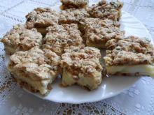 Snikers z ciasta z musli