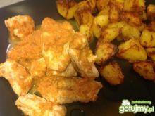 Soczysty indyk grillowany z warzywami