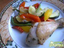 Soczysty kurczak z warzywami