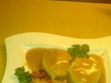 Soja z ziemniakami i buraczkami
