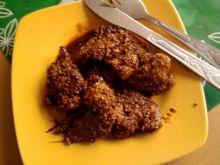 Sojowo-cytrynowy kurczak z sezamem