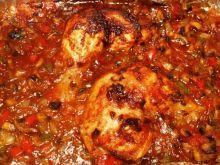 Sojowy kurczak w gorącej salsie