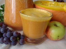 Sok dyniowy z owocami