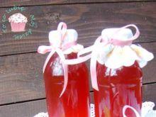 Sok i syrop z płatków róży