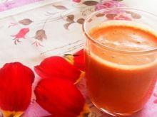 Sok marchwiowo-jabłkowych z miodem
