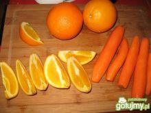 Sok pomarańczowo- marchewkowy