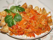 Sola z warzywach z papryką