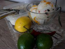 Sorbet limonkowo-cytrynowy z chili